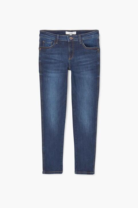 Mango Jeans skinny MID BLUE DENIM 83030059_MNG_17_OPEN BLUE img5