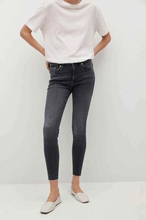 Mango Jeans skinny grijs 87001040 MNG 21_OPEN GREY img1