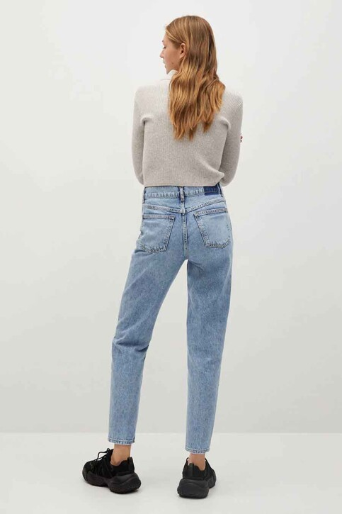 Mango Mom Jeans blauw 87040569 MNG 21_OPEN BLUE img3