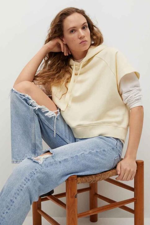 Mango Sweaters met kap beige 87097154 MNG 21_LIGHT BEIGE img4