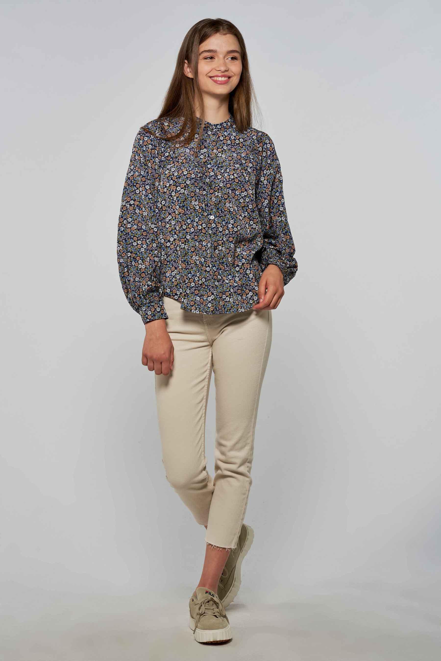 Levi's® Blouse lange mouwen, Multicolor, Dames, Maat: L/M/S/XS