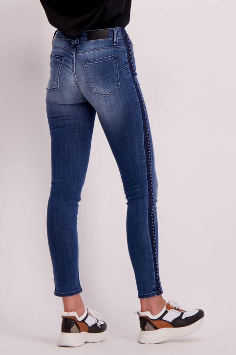 Astrid Black Label Jeans skinny bleu ABL184WT 005_BLUE img3