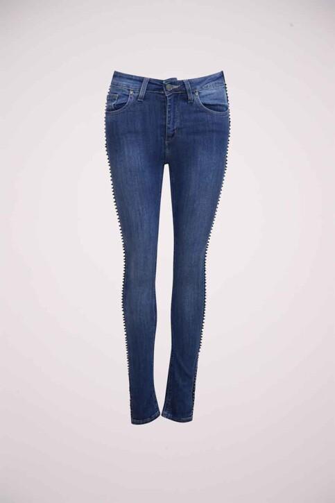 Astrid Black Label Jeans skinny bleu ABL184WT 005_BLUE img5