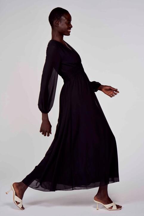 Astrid Black Label Jurken (lang) zwart ABL211WT 010_BLACK img2