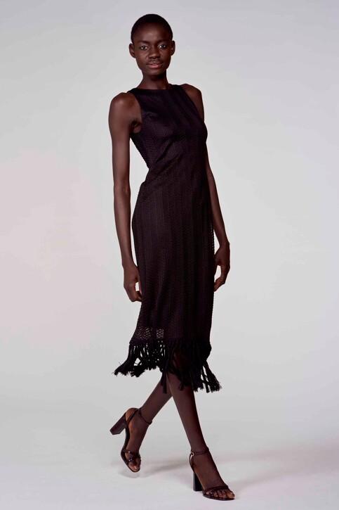 Astrid Black Label Jurken 3/4 zwart ABL211WT 018_BLACK img1