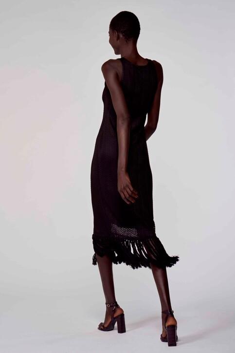 Astrid Black Label Jurken 3/4 zwart ABL211WT 018_BLACK img3