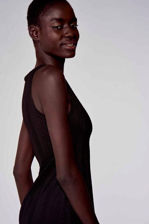 Astrid Black Label Jurken 3/4 zwart ABL211WT 018_BLACK img4
