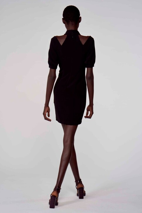 Astrid Black Label Jurken (kort) zwart ABL211WT 021_BLACK img5