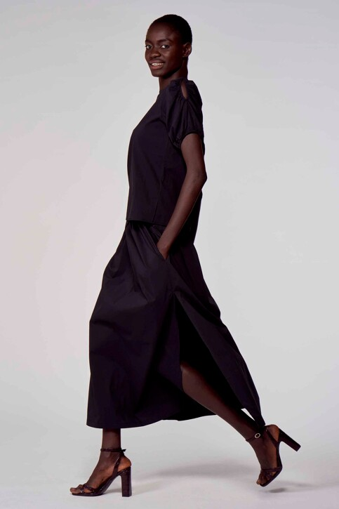 Astrid Black Label Blouses (korte mouwen) zwart ABL211WT 023_BLACK img2