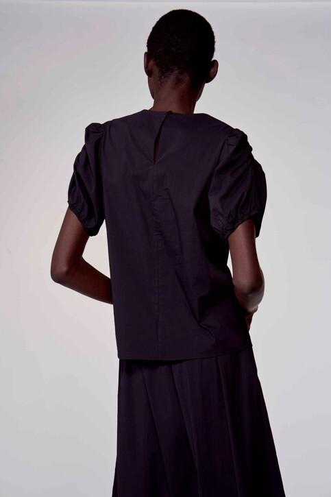Astrid Black Label Blouses (korte mouwen) zwart ABL211WT 023_BLACK img3