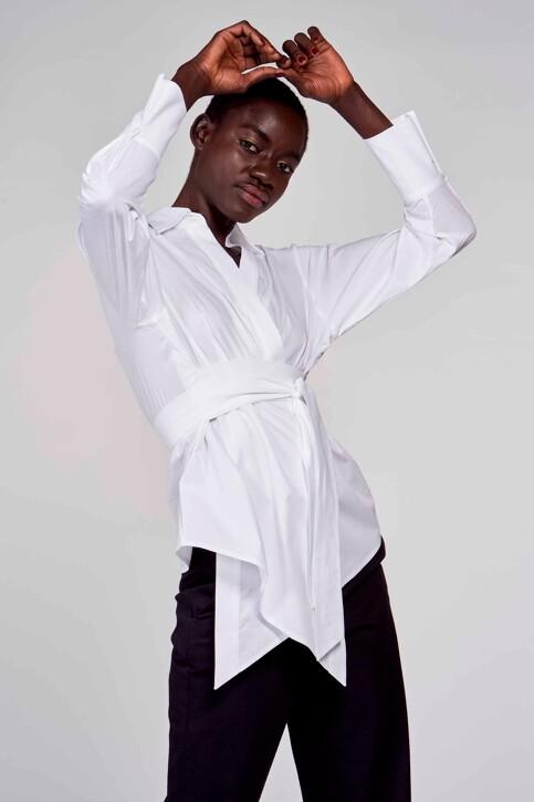 Astrid Black Label Hemden (lange mouwen) wit ABL211WT 031_WHITE img1