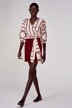 Astrid Black Label Shorts bordeaux ABL211WT 034_MERLOT img2
