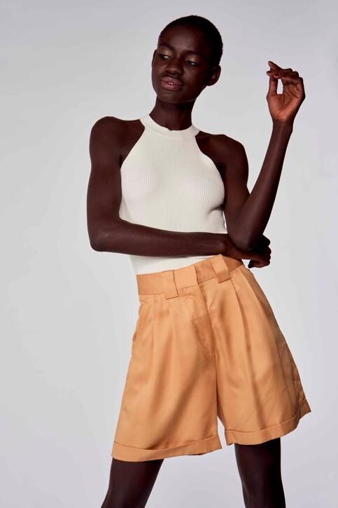 Astrid Black Label Shorts beige ABL213WT 004_ICED COFFEE img2