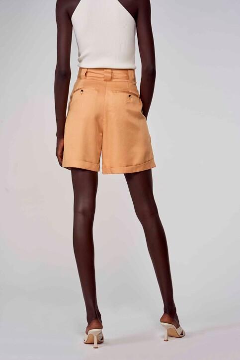Astrid Black Label Shorts beige ABL213WT 004_ICED COFFEE img4