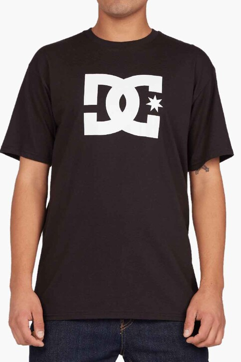 DC SHOES T-shirts (korte mouwen) zwart ADYZT04794KVJ0_KVJ0 BLACK img1