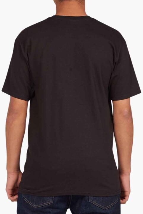 DC SHOES T-shirts (korte mouwen) zwart ADYZT04794KVJ0_KVJ0 BLACK img2