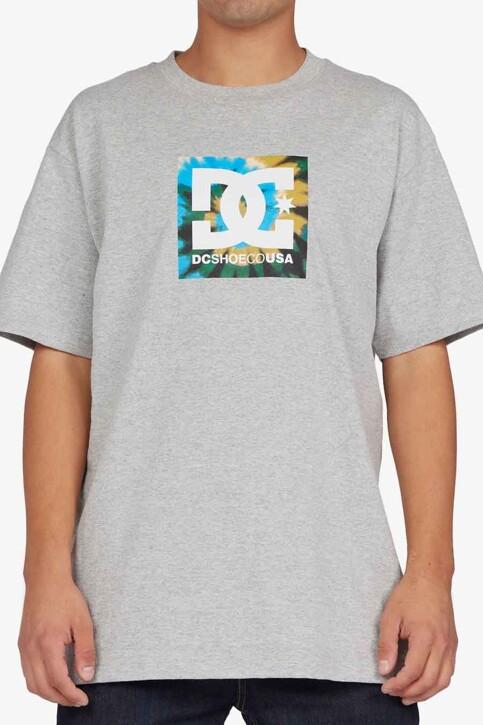 DC SHOES T-shirts (korte mouwen) grijs ADYZT04890KNFH_KNFH HEATHER GR img1