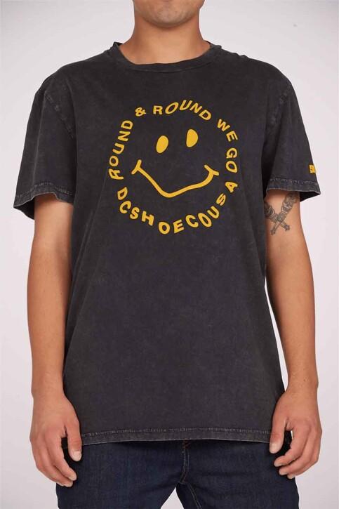 DC SHOES T-shirts (korte mouwen) grijs ADYZT04919KVDW_KVDW BLACK ACID img1