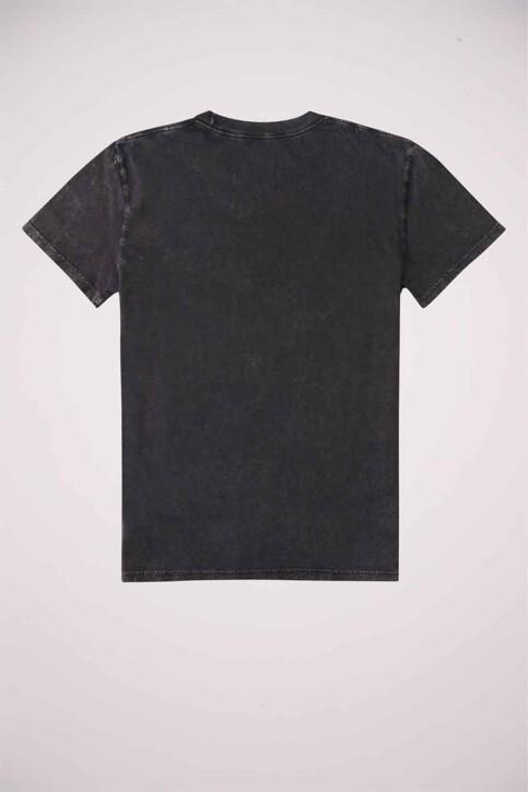 DC SHOES T-shirts (korte mouwen) grijs ADYZT04919KVDW_KVDW BLACK ACID img4