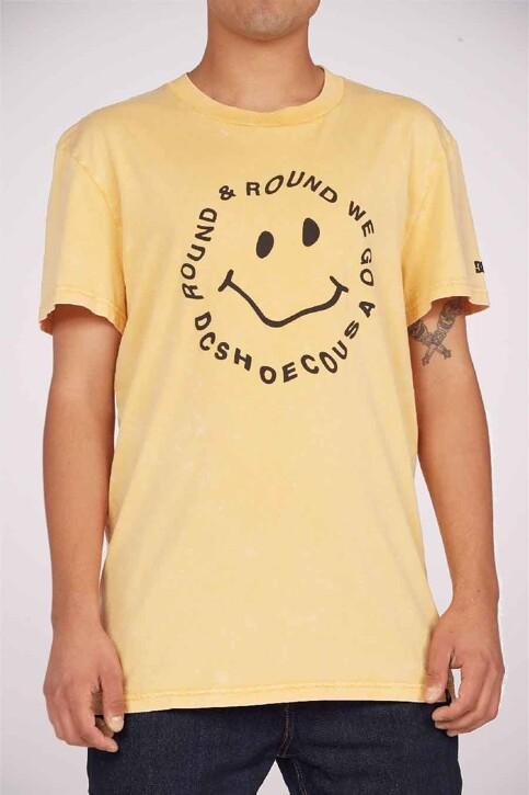 DC SHOES T-shirts (korte mouwen) geel ADYZT04919YKKW_YKKW GOLDEN ROD img1