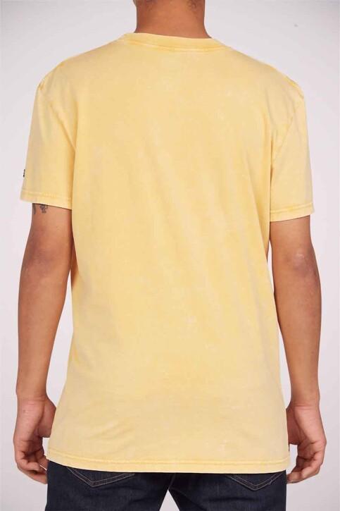 DC SHOES T-shirts (korte mouwen) geel ADYZT04919YKKW_YKKW GOLDEN ROD img2