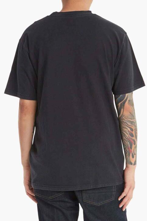DC SHOES T-shirts (korte mouwen) zwart ADYZT05050BAC_BAC BLACK ACID img2