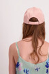 Tommy Hilfiger Casquettes rose AW0AW05468_646 MAHOGANY RO img3