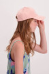 Tommy Hilfiger Casquettes rose AW0AW05468_646 MAHOGANY RO img4