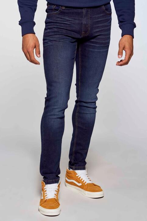 DENIM PROJECT Jeans slim denim AW2015043_043 DARK BLUE img1