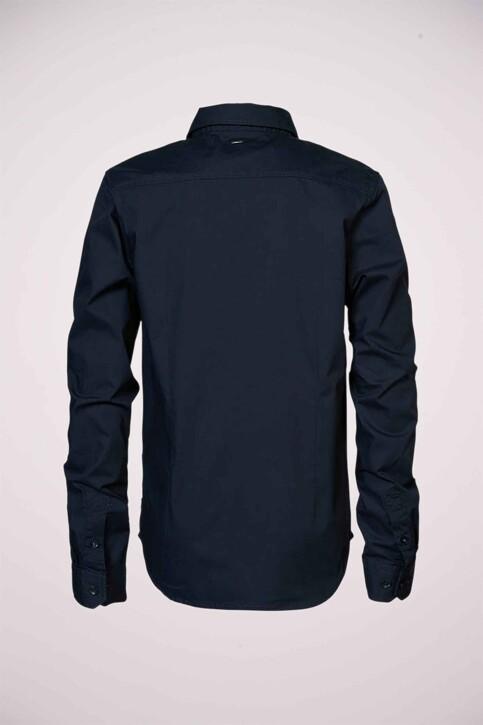 Petrol Industries® Hemden met lange mouwen blauw B3000SIL434_5091 DEEP NAVY img2