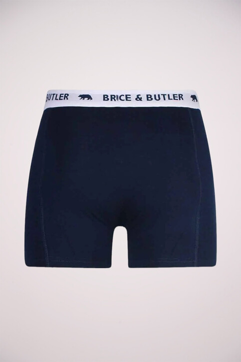 Bruce & Butler Boxers bleu BB BOXER_NAVY img2