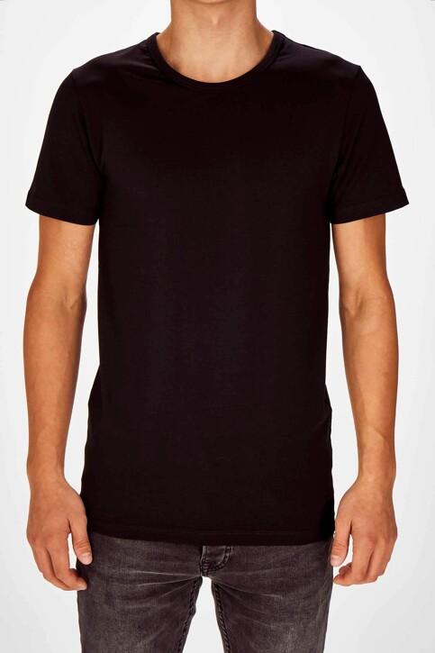 Bruce & Butler T-shirts (korte mouwen) zwart BB LENNART SS O 1P_BLACK img1
