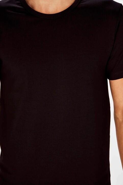 Bruce & Butler T-shirts (korte mouwen) zwart BB LENNART SS O 1P_BLACK img3