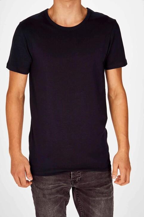 Bruce & Butler T-shirts (korte mouwen) blauw BB LENNART SS O 1P_NAVY img1