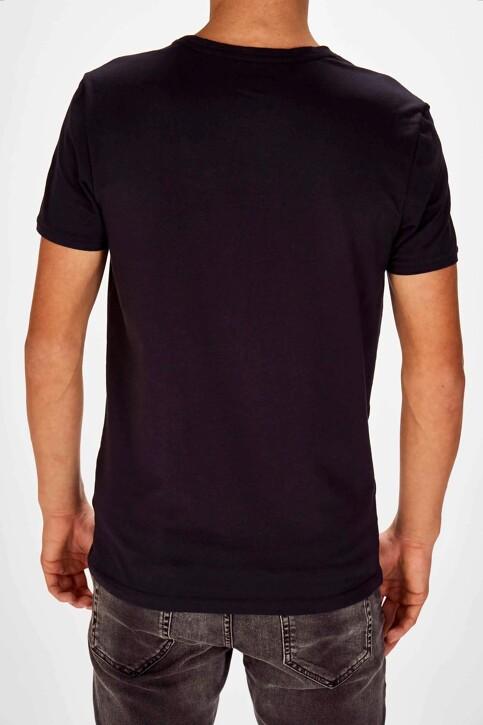 Bruce & Butler T-shirts (korte mouwen) blauw BB LENNART SS O 1P_NAVY img2