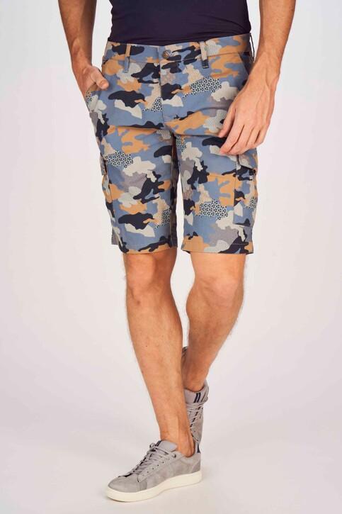 Bruce & Butler Shorts multicoloré BRB191MT 001_DARK SAND CAMEO img1