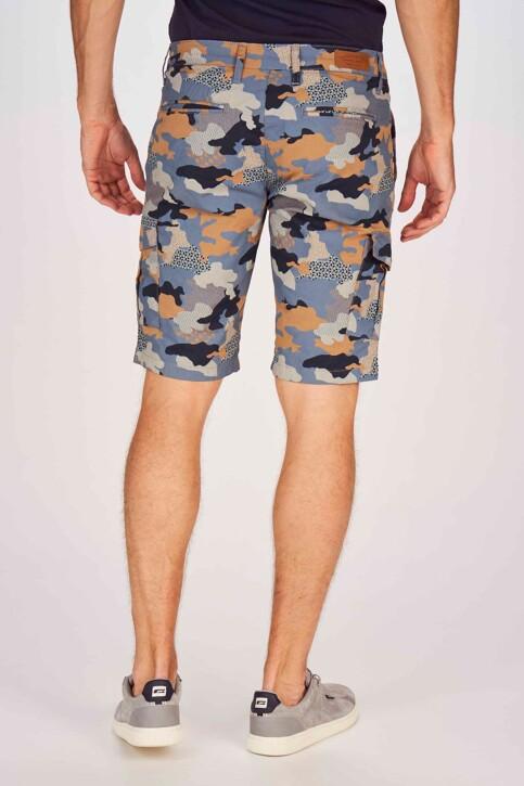 Bruce & Butler Shorts multicoloré BRB191MT 001_DARK SAND CAMEO img3