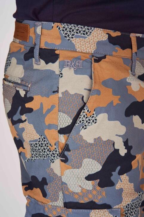Bruce & Butler Shorts multicoloré BRB191MT 001_DARK SAND CAMEO img4