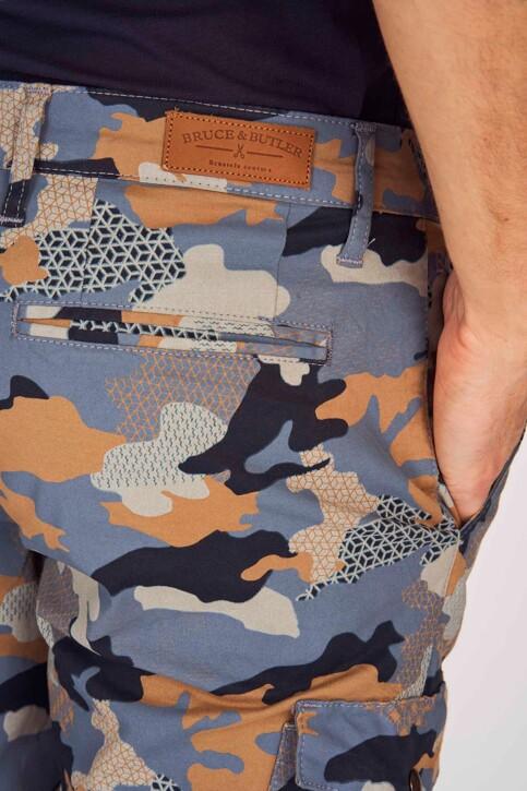 Bruce & Butler Shorts multicoloré BRB191MT 001_DARK SAND CAMEO img5