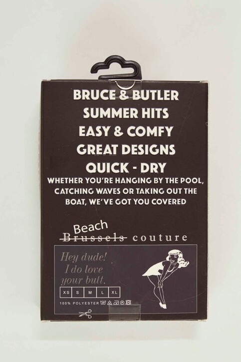 Bruce & Butler Zwembroeken zwart BRB191MT 007_BLACK img5