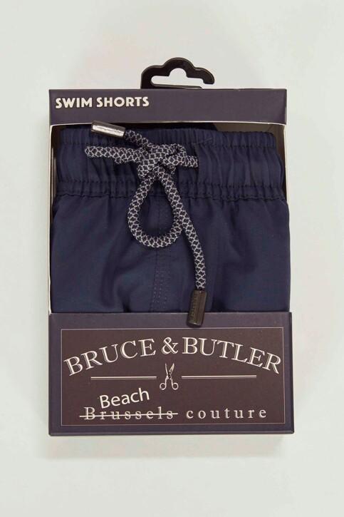 Bruce & Butler Zwembroeken blauw BRB191MT 007_NAVY BLUE img4