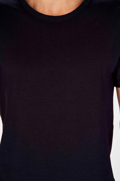 Bruce & Butler T-shirts (korte mouwen) blauw BRB194MT 025_NAVY img3
