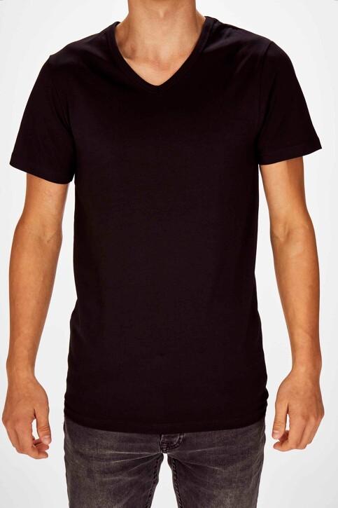 Bruce & Butler T-shirts (korte mouwen) zwart BRB194MT 028_BLACK img1