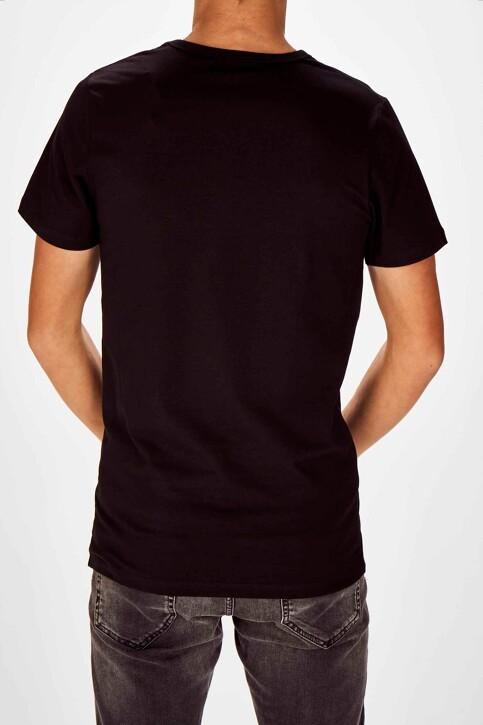 Bruce & Butler T-shirts (korte mouwen) zwart BRB194MT 028_BLACK img2