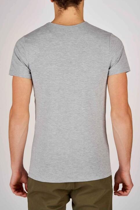 Bruce & Butler T-shirts (korte mouwen) grijs BRB194MT 028_LIGHT GREY img2