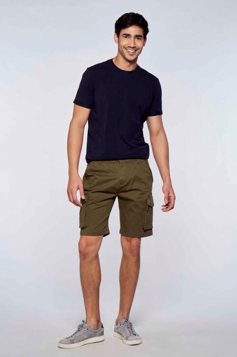 Bruce & Butler Shorts groen BRB213MT 007_OLIVE img2