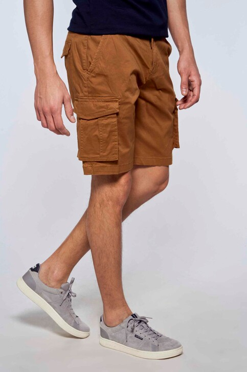 Bruce & Butler Shorts bruin BRB213MT 007_RUBBER img1