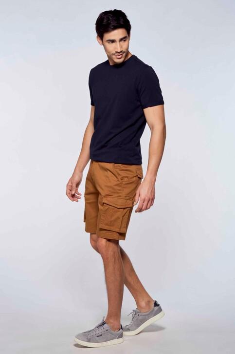 Bruce & Butler Shorts bruin BRB213MT 007_RUBBER img2