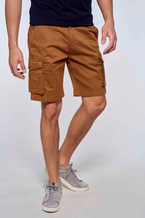 Bruce & Butler Shorts bruin BRB213MT 007_RUBBER img3