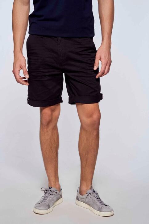 Bruce & Butler Shorts zwart BRB213MT 012_BLACK img1